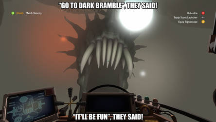 Outer Wilds: Dark Bramble is the worst planet ever