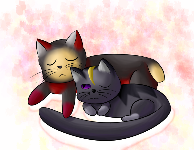 King of Cats and His Right Paw Man by RollingTomorrow