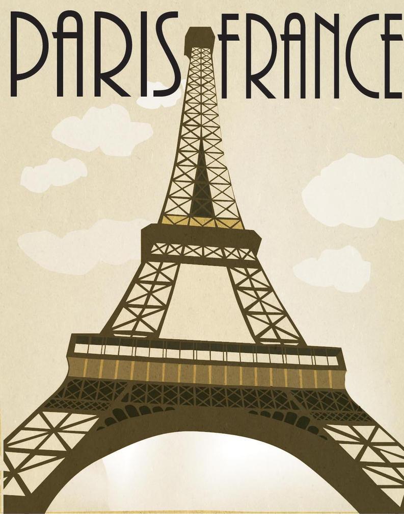 vintage parisian travel posters jpg 853x1280