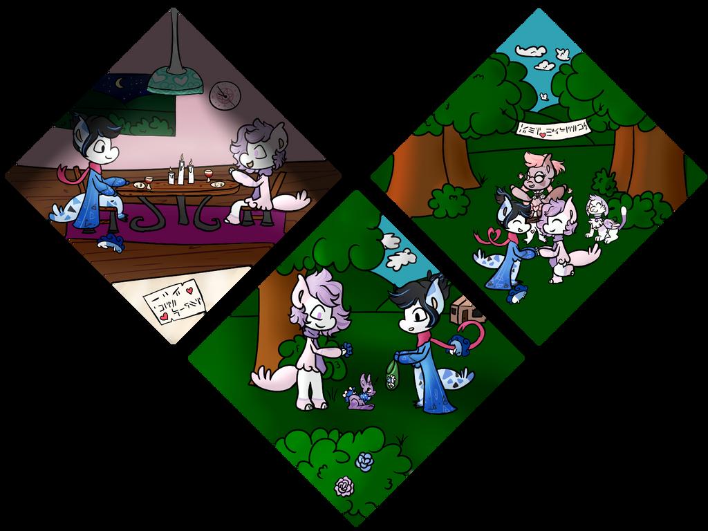 Soulmate Trial-Mackie and Samie- 4-6 by PonOfGriffia