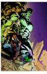 Spider-Man and Hulk