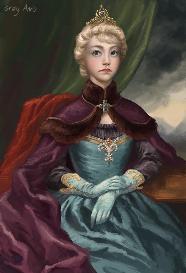 Elsa's coronation by GreyAnnis