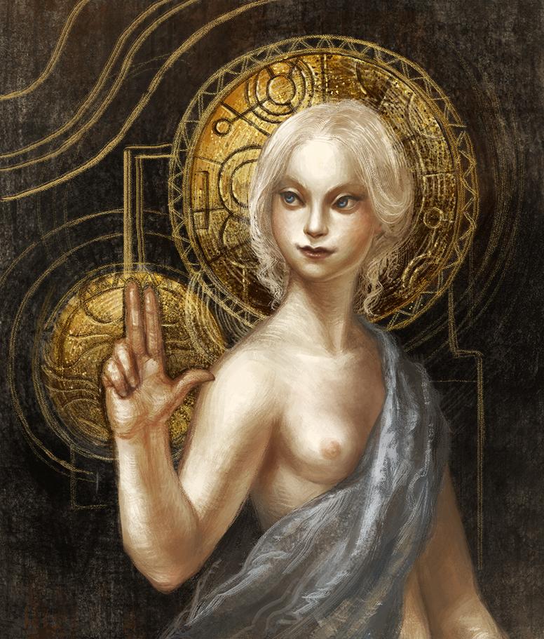 Oracle by GreyAnnis