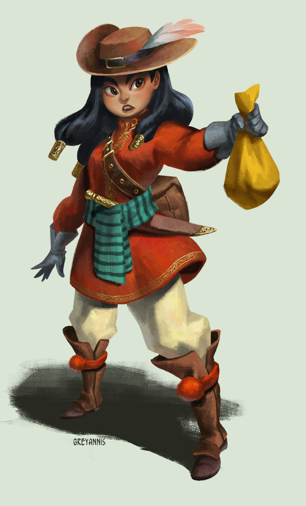 Adventurer by GreyAnnis