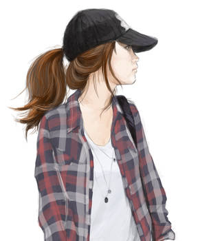girl with cap 2