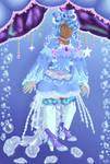 Jellyfish magical girl