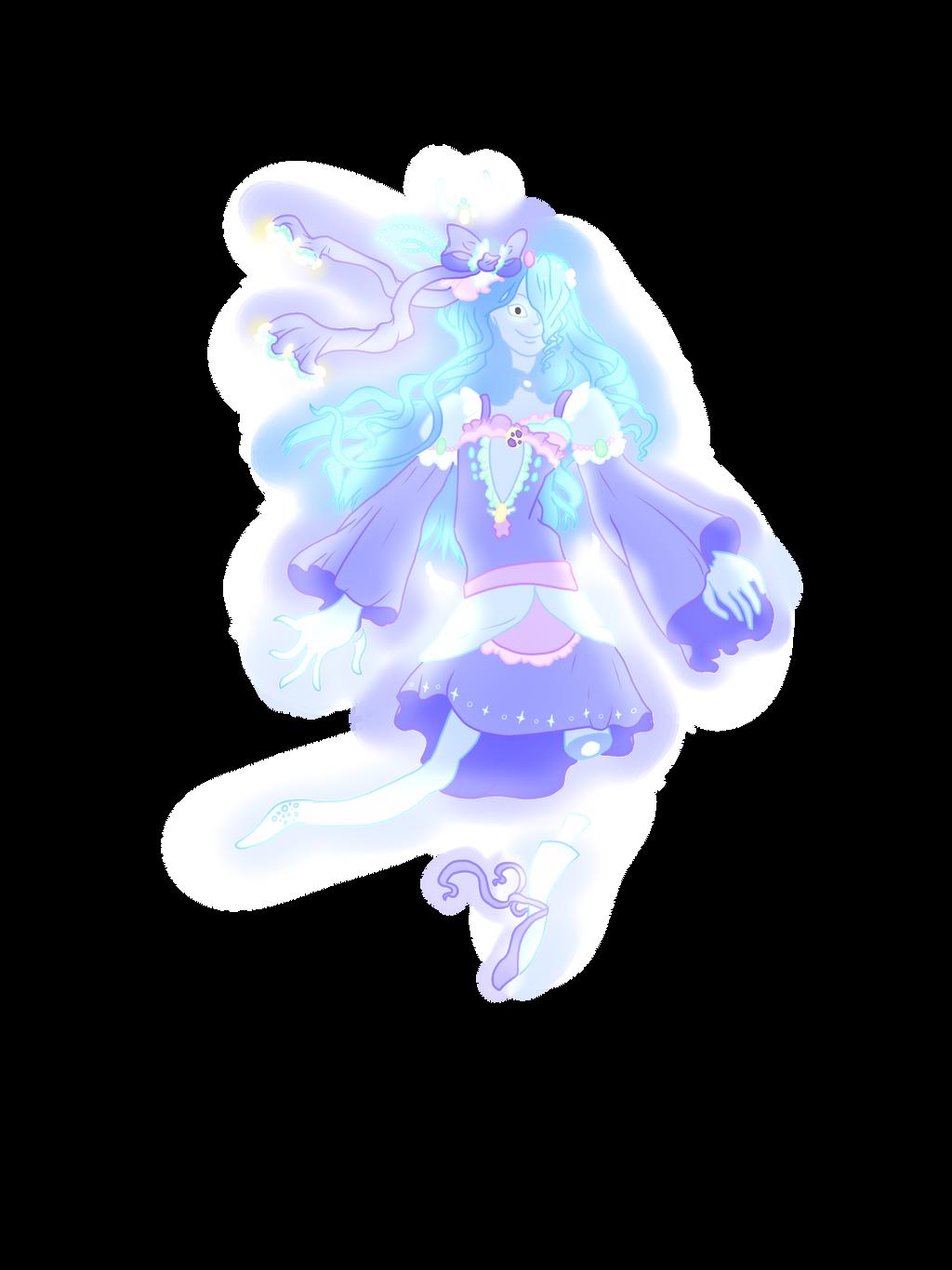 Ghost magical girl