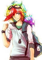 MLP_Rainbow Dash by YanaBau
