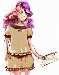 MLP_Sweetie Belle by YanaBau