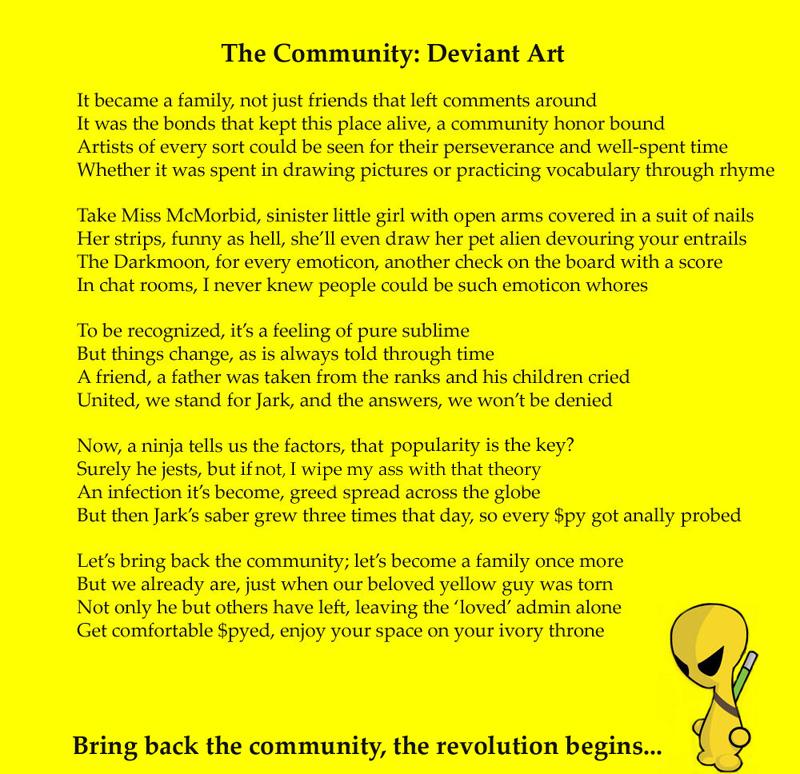 The Community: Deviant Art