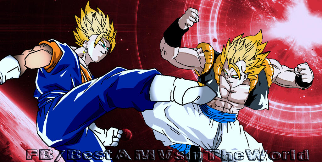 Gogeta Vs Vegito by dbzAfterMath on DeviantArt