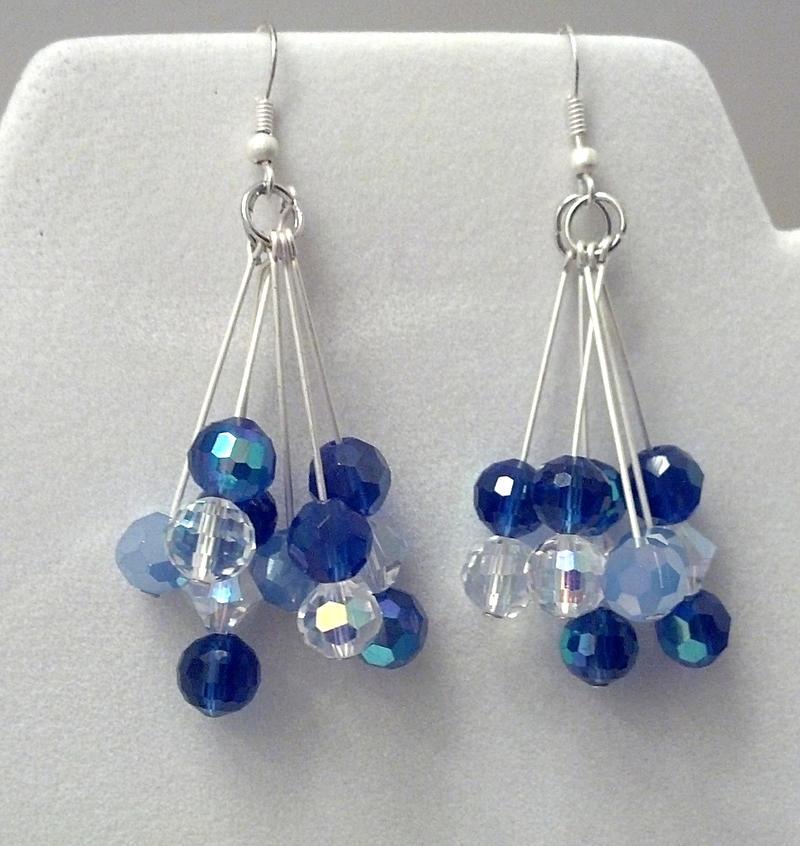dangle bead earrings by zunii h on deviantart