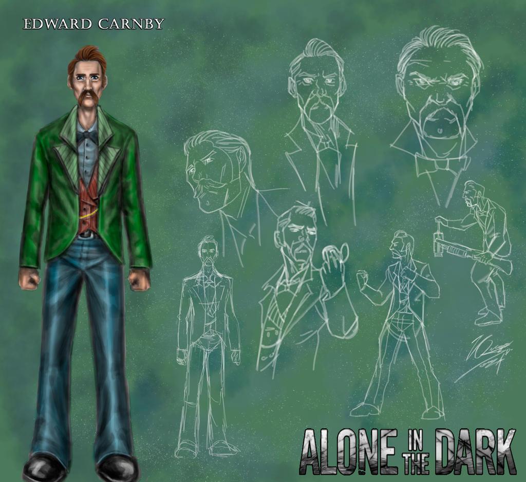 Alone In The Dark Remake Edward Carnby By Hugo Souza On Deviantart