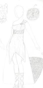 Shamrock Dress (Final version - non-colored)
