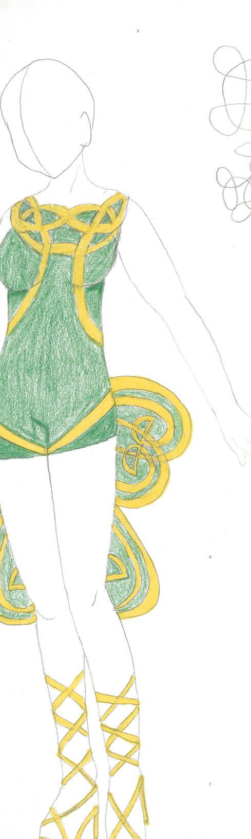 Shamrock Dress (First Draft version)