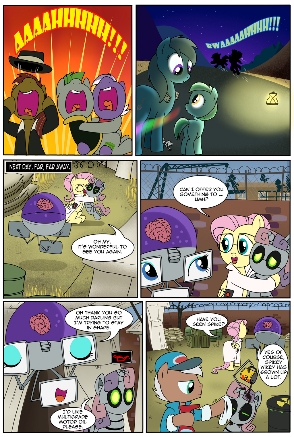 Fallout Equestria: The Ghost of the Wastes Part 2 by alfredofroylan2