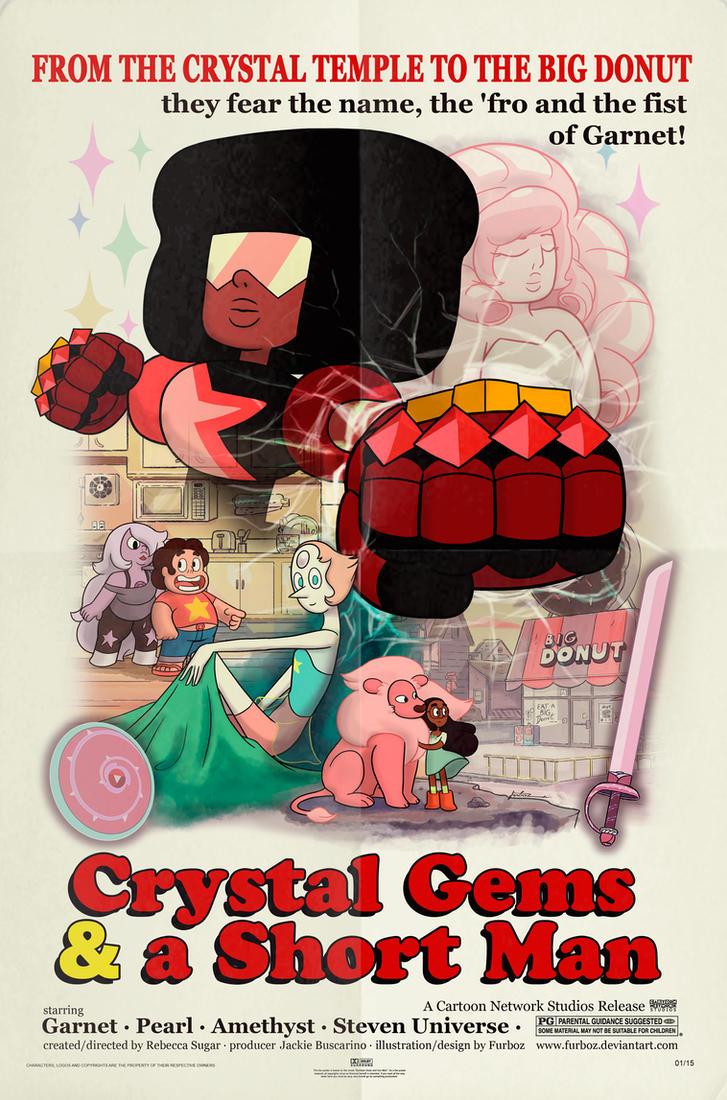 Crystal Gems and a Short Man by alfredofroylan2