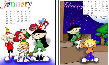 Kids Next Door calendar by alfredofroylan2