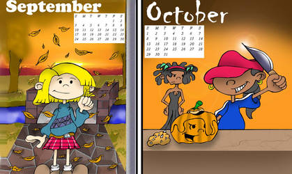 Kids Next Door calendar 5 by alfredofroylan2