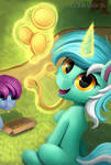 Lyra by Gouransion
