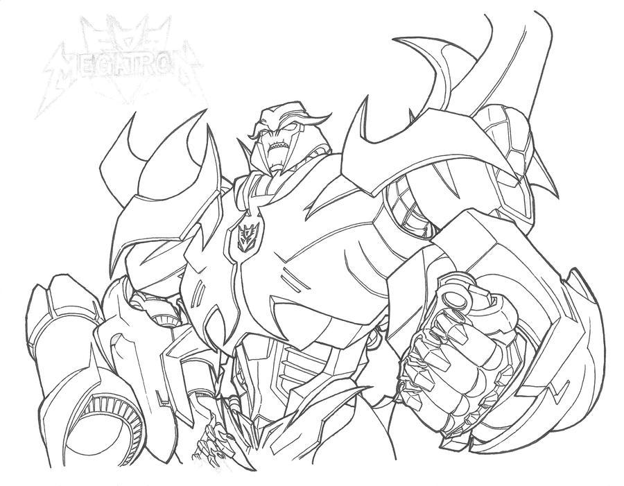Megatron - Transformers Prime by yukinyon on DeviantArt