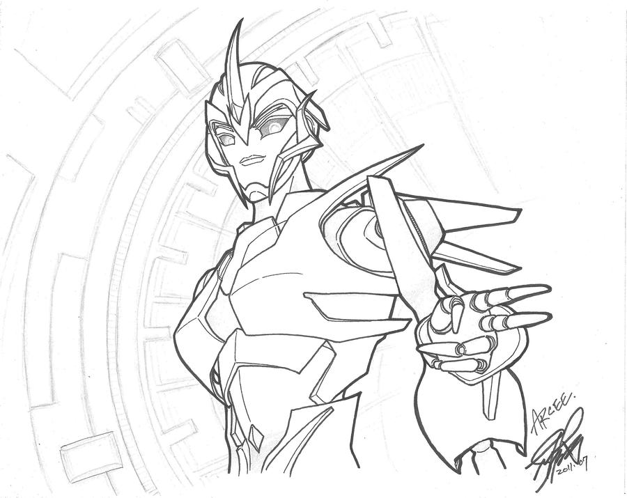 arcee transformers prime coloring pages - photo#2