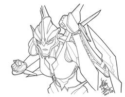 Arcee's Can of Whoop-Arce by yukinyon
