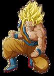 Son Goku by MiloPanic