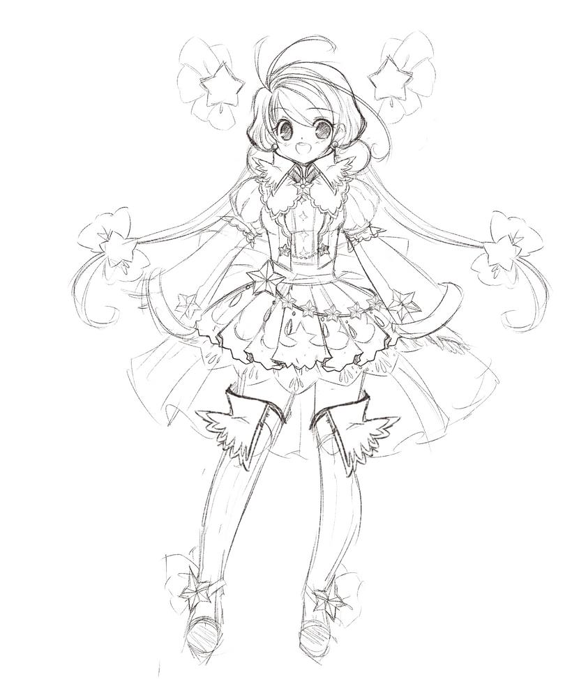 Star Princess Concept Sketch By ManouAzumi On DeviantArt