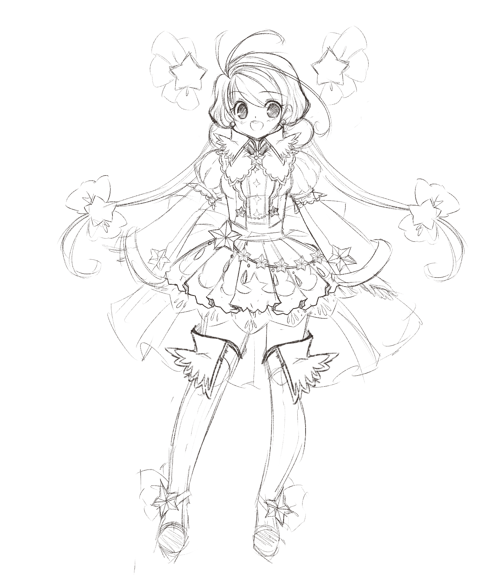 Star princess concept sketch by manouazumi star princess concept sketch by manouazumi