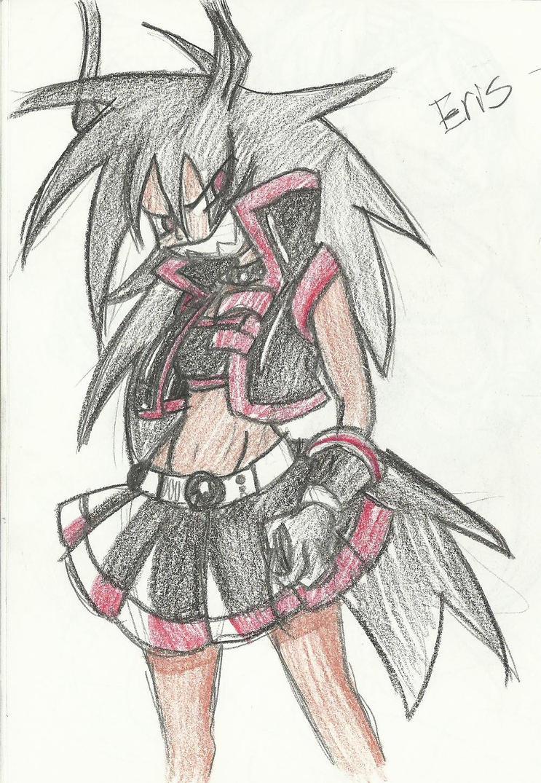.:Quick Eris doodle:. by Papiwolffox640