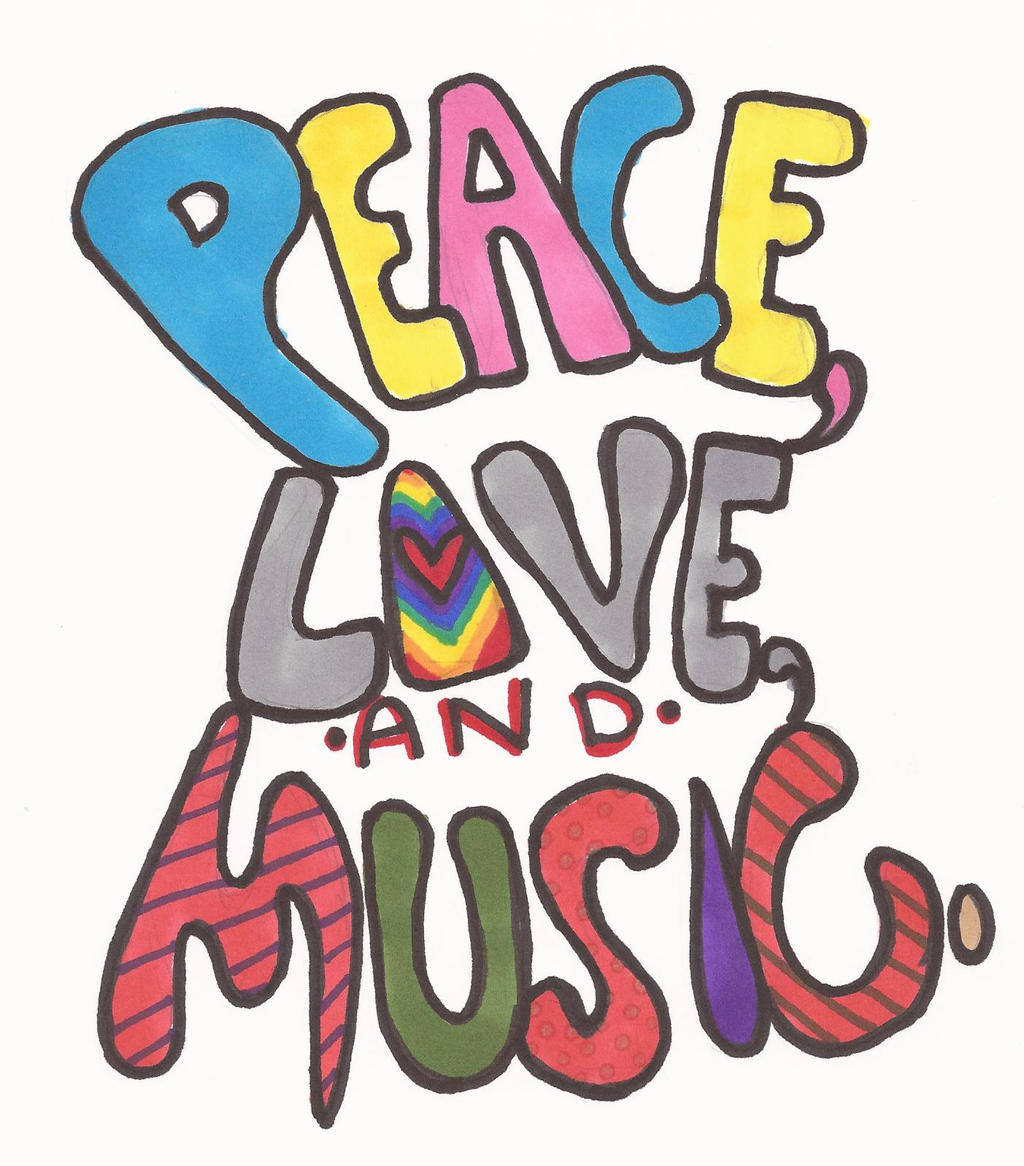 Valentines For > Peace Love Music Pictures