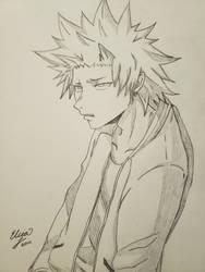 Punk Kirishima by Elicia1016