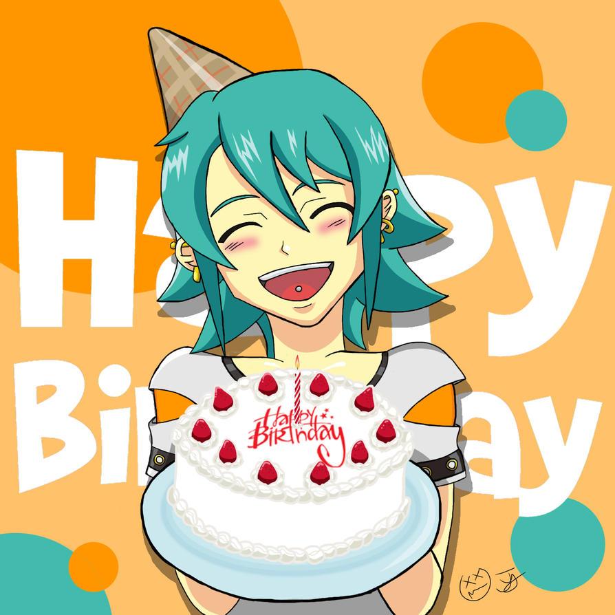 Happy Birthday Card to Myself by x-Beatrush-x
