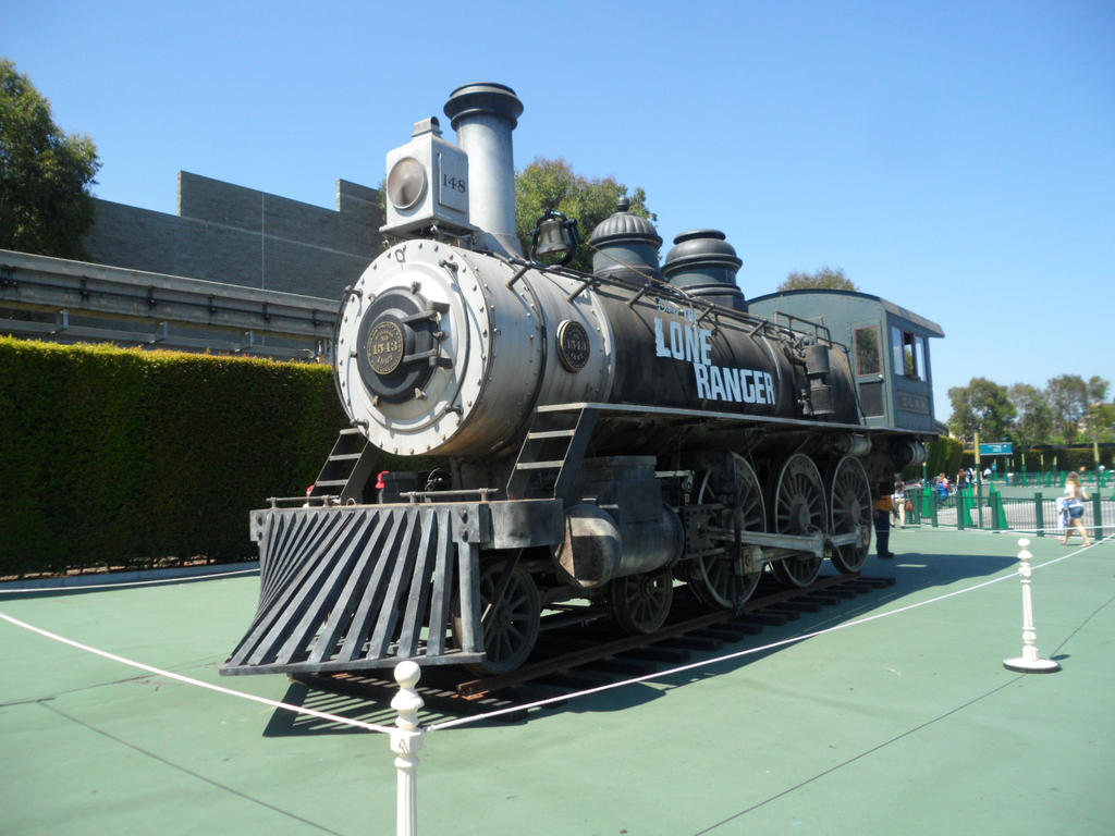 'The Lone Ranger' Locomotive by therailfaningboy on DeviantArt