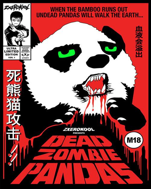 Dead Zombie Pandas by zxerokool