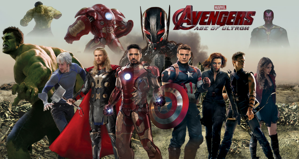 Avengers Age Of Ultron By Iloegbunam On Deviantart: Avengers Age Of Ultron By ArkhamNatic On DeviantArt