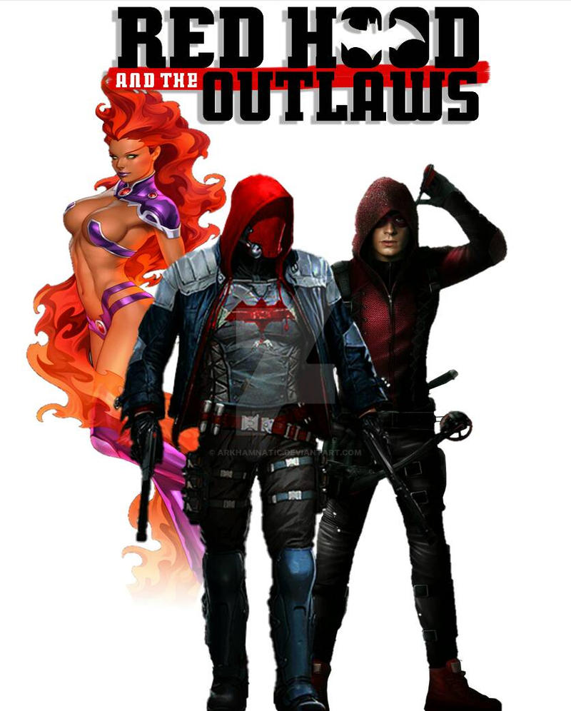 Red Hood and the Outlaws by ArkhamNatic on DeviantArt