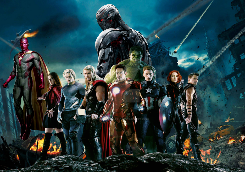 Avenger Age Of Ultron Sketch: Marvel Movies Quiz