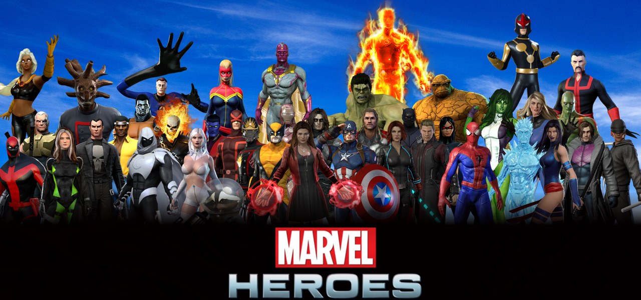Marvel Wallpaper By ArkhamNatic