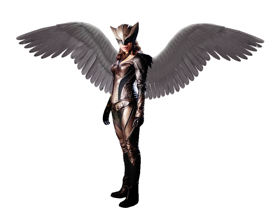 DC Legends Of Tomorrow Hawkgirl Render By ArkhamNatic On