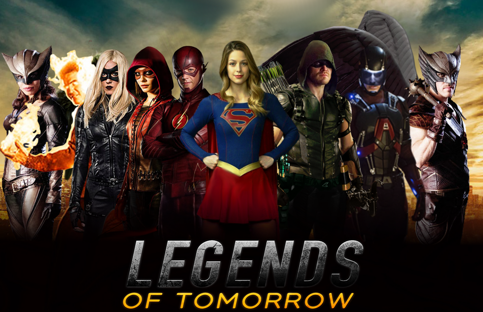 Dc S Legends Of Tomorrow Wallpaper And Background Image: Legends Of Tomorrow Wallpaper For The Desktop [1920 X 1080