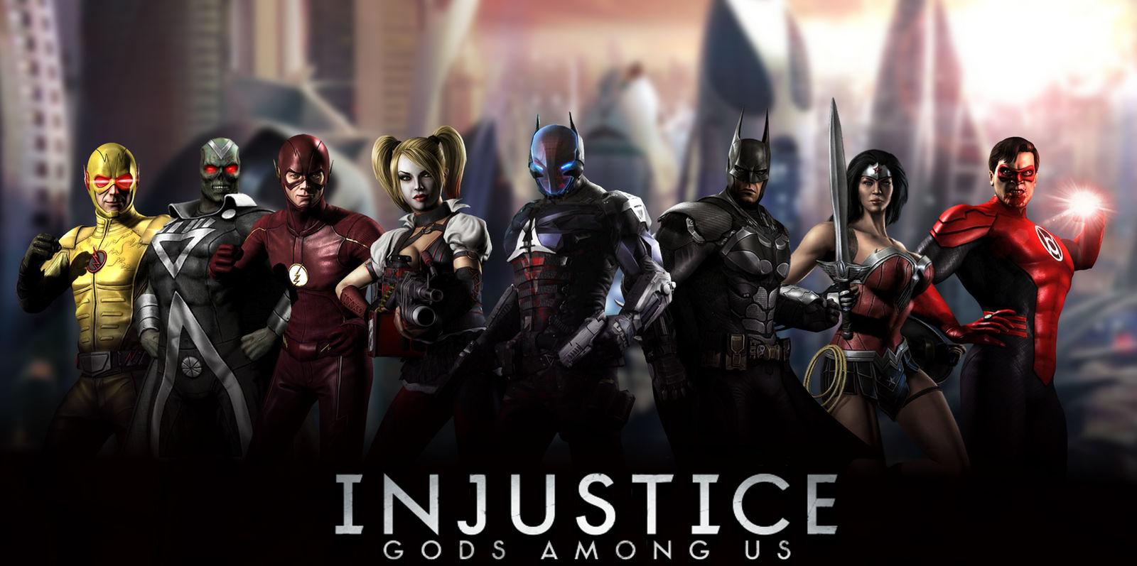 Injustice Gods Among Us Wallpaper By Arkhamnatic On Deviantart