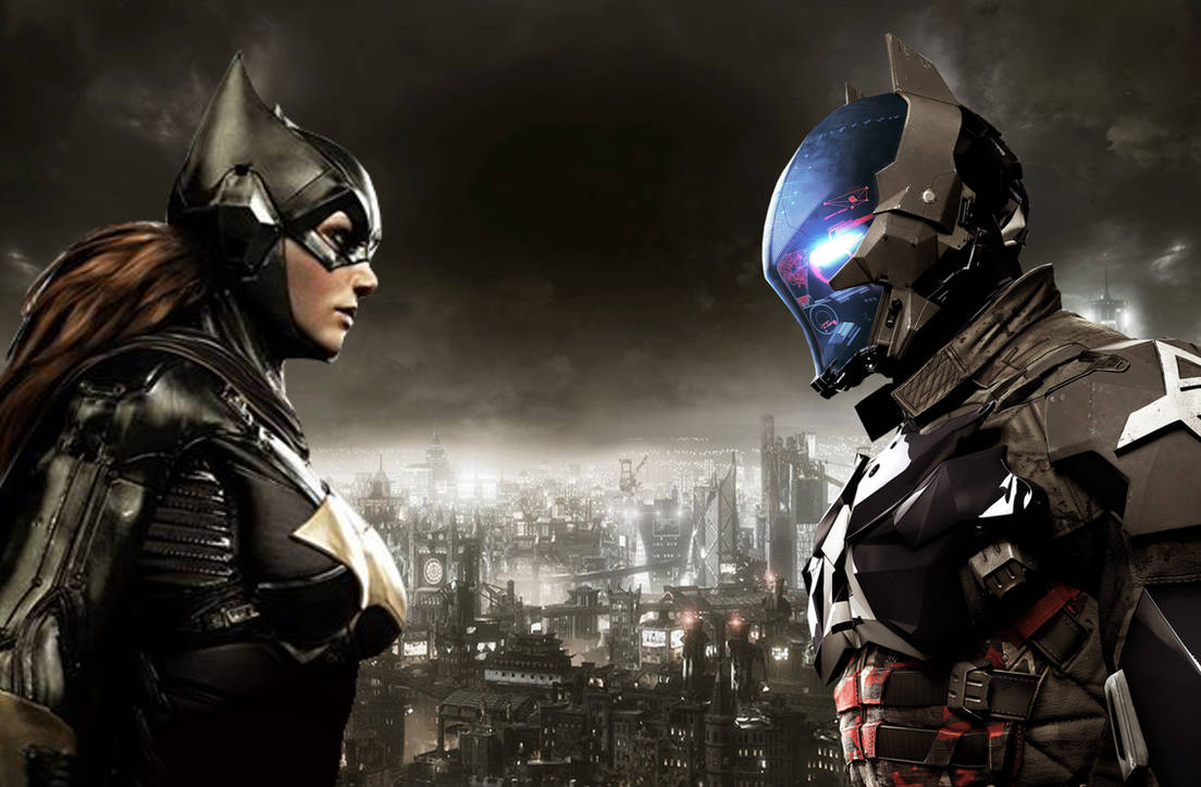 Batgirl vs Arkham Knight by ArkhamNatic on DeviantArt