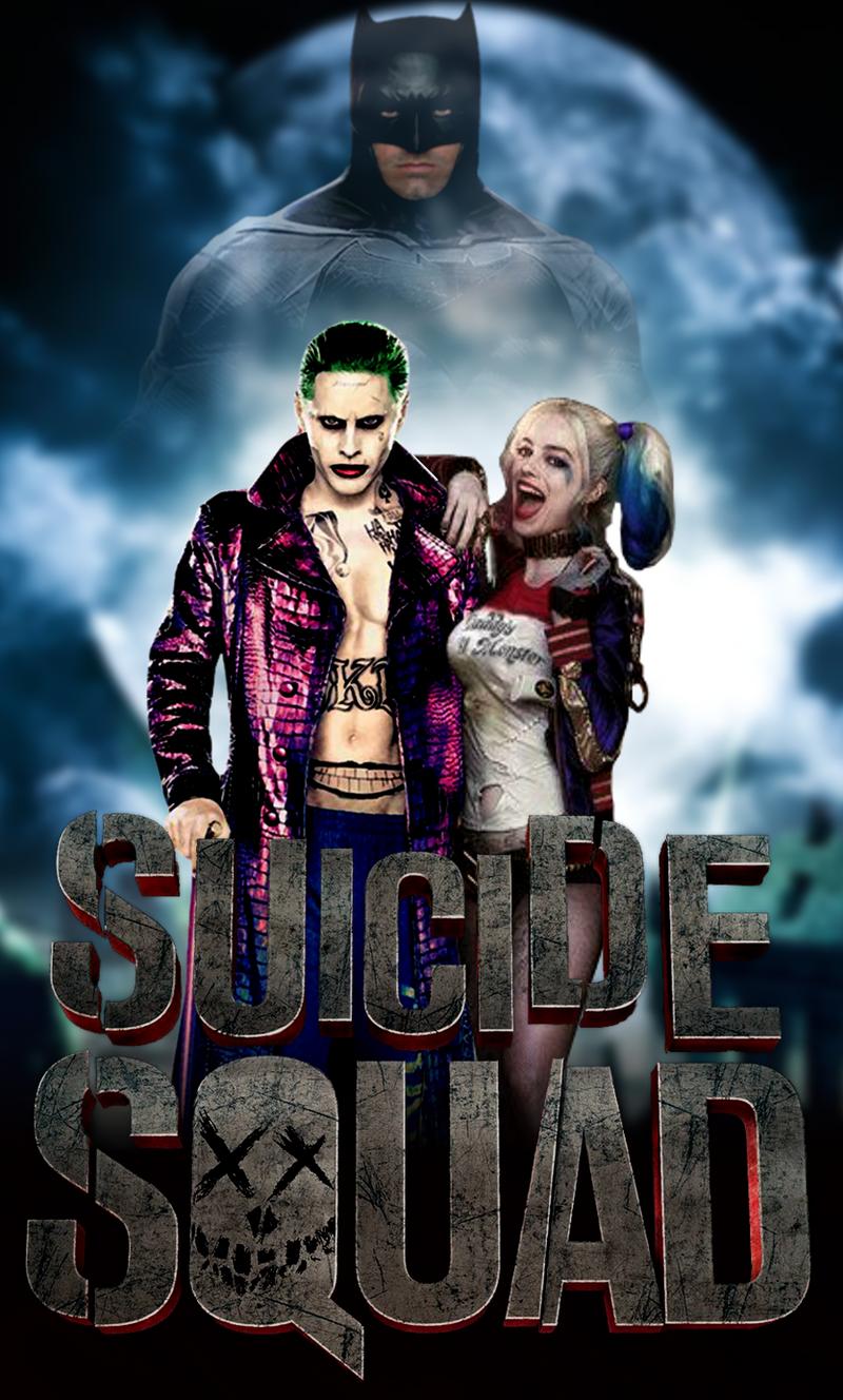 Joker and Harley Quinn wallpaper by ArkhamNatic on DeviantArt