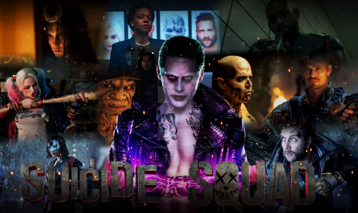 suicide squad wide wallpapers - photo #15
