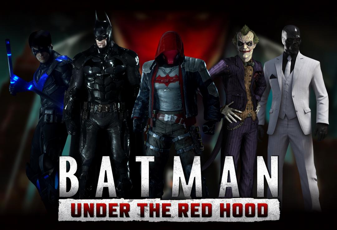 Arkham Batman Under The Red Hood By ArkhamNatic