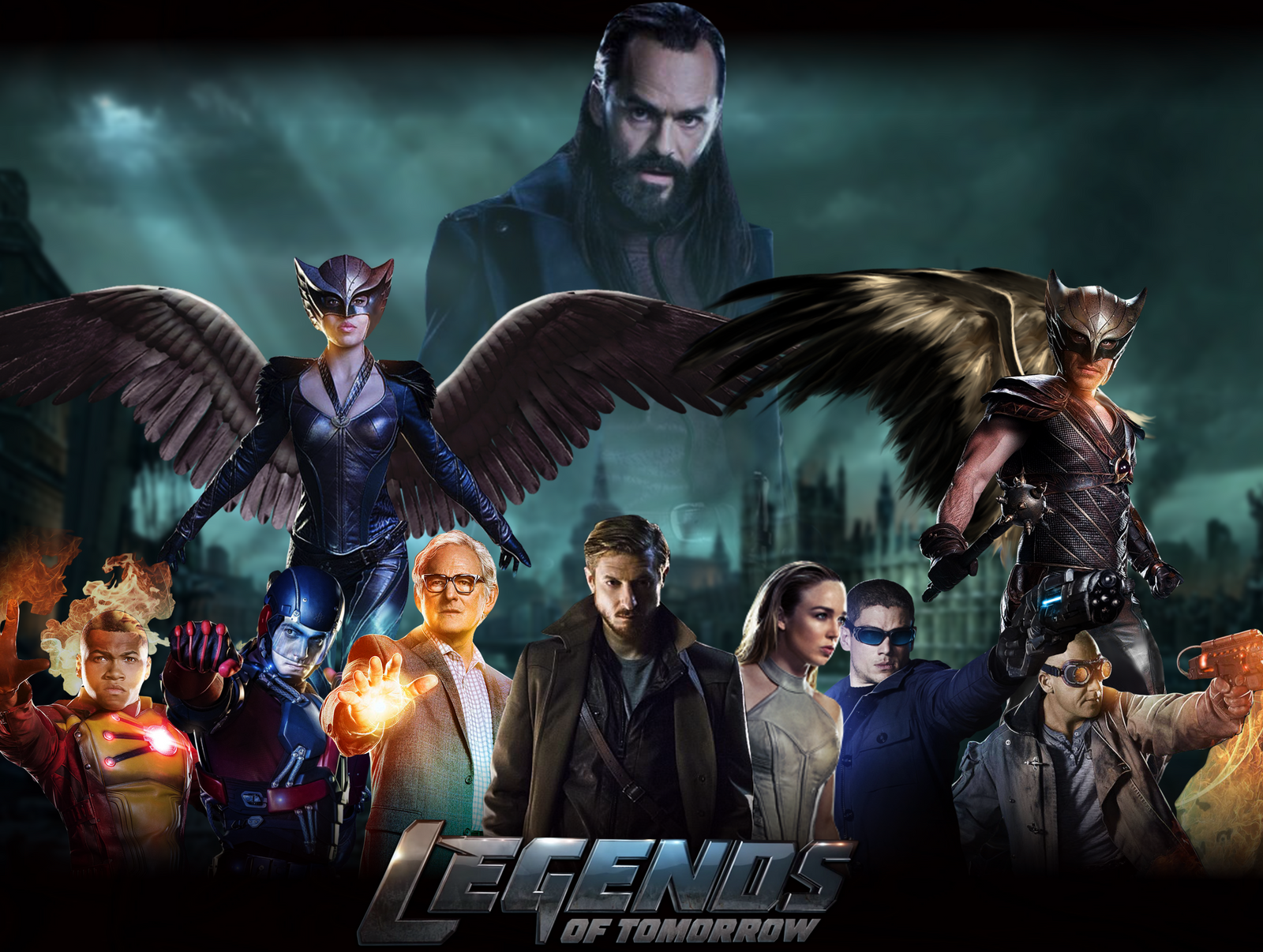 dc legends of tomorrow pdf