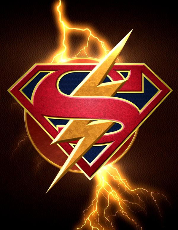 Dc Ground Symbol : Flash supergirl crossover logo by arkhamnatic on deviantart