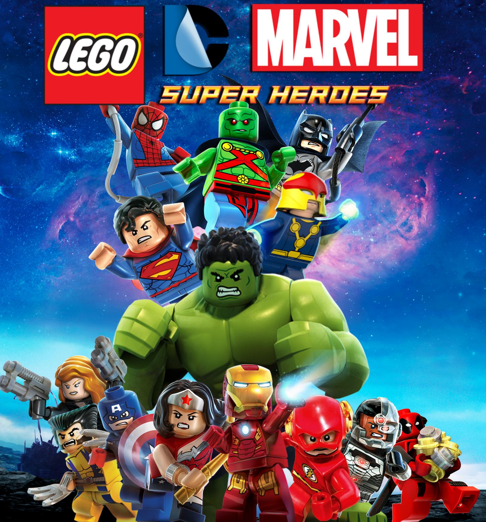 lego dc marvel superheroes by arkhamnatic on deviantart